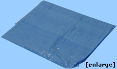 Blue Poly Tarp from Tarps Online