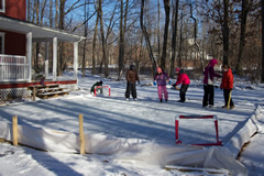 Ice Rink Tarp from Tarps Online