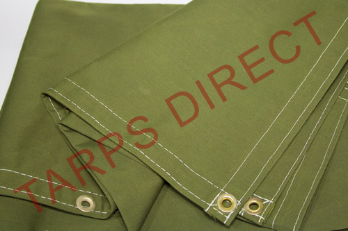 WorkHorse Polyester Canvas Tarp from Tarps Online