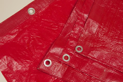 Red Poly Tarp from Tarps Online