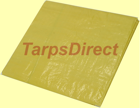 Yellow Poly Tarp from Tarps Online